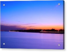 Acrylic Print featuring the photograph Velvet At Dusk by Brian Wright