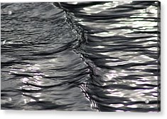 Velvet Ripple Acrylic Print by Cathie Douglas