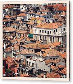 Venetian Rooftops Acrylic Print