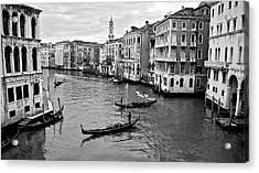 Acrylic Print featuring the photograph Venezia by Eric Tressler