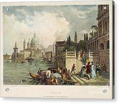 Venice, 1833 Acrylic Print by Granger