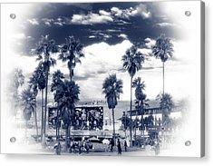 Venice Beach Haze Acrylic Print by John Rizzuto