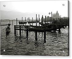 Venice Canal Grande IIi Acrylic Print by Nina Papiorek