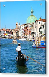 Acrylic Print featuring the photograph Venice Cell Phone by Jeanne  Woods