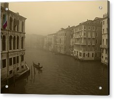 Acrylic Print featuring the photograph Venice by David Gleeson