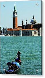 Venice Gandola Acrylic Print