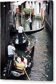 Venice Gridlock Acrylic Print