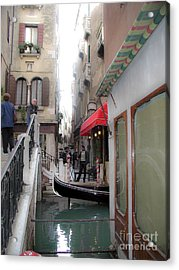 Acrylic Print featuring the photograph Venice by Leslie Hunziker