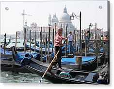 Venice Acrylic Print by Mary-Lee Sanders