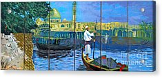 Venice Of The Middle East Acrylic Print by Unknown - Local Iraqi National
