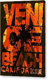 Venice Rocks Acrylic Print