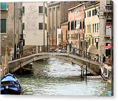 Venice Venezia Venetian Bridge Acrylic Print