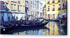 Venice Waiting  Acrylic Print