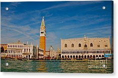 Acrylic Print featuring the photograph Venice's Front Door by Eric Tressler