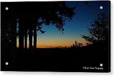 'ventana Sunset' Acrylic Print by PJQandFriends Photography