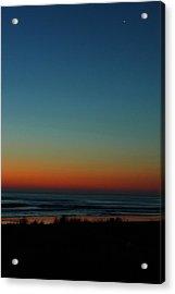 Venus And Atlantic Before Sunrise Acrylic Print