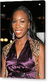 Venus Williams At Arrivals For Hitch Acrylic Print by Everett