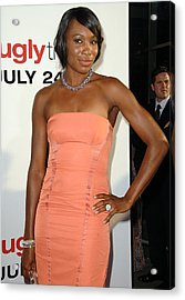 Venus Williams At Arrivals For The Ugly Acrylic Print by Everett