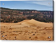 Vermilion Dunes Acrylic Print by Stephen Campbell