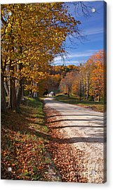 Vermont Sugar House Acrylic Print by Butch Lombardi