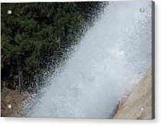 Vernal Falls On The Mist Trail At Yosemite Np Acrylic Print