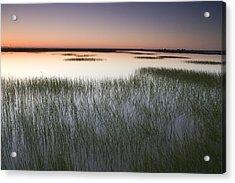 Vernal Pool At Sunrise Jepson Prairie Acrylic Print