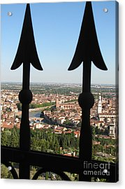 Verona- View Acrylic Print by Italian Art