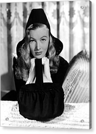 Veronica Lake, Paramount Pictures, 1941 Acrylic Print