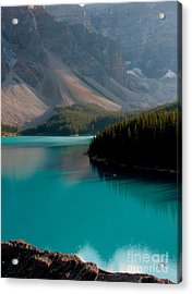 Acrylic Print featuring the photograph Vertical by Milena Boeva
