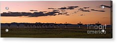 Very Large Array Panorama Acrylic Print by Matt Tilghman