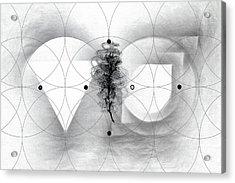 Vesica Piscis Acrylic Print