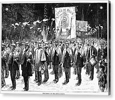 Veteran March, 1876 Acrylic Print by Granger