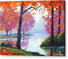 Vibrant Colours Acrylic Print