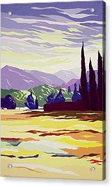 Vicopelago - Lucca Acrylic Print by Derek Crow