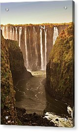 Victoria Falls Acrylic Print by Rob Verhoeven & Alessandra Magni