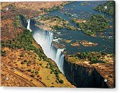 Victoria Falls, Zambia Acrylic Print by © Pascal Boegli