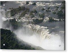 Victoria Falls Zambia Acrylic Print by Carol Wright