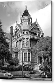 Victorian Haas Lilienthal House In San Francisco Acrylic Print by Daniel Hagerman