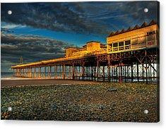 Victorian Pier Acrylic Print by Adrian Evans