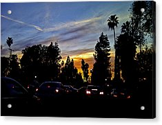 Victory Blvd 4 Acrylic Print by Russell Jenkins