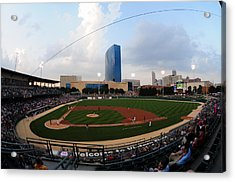 Victory Field Home Of The Indianapolis Indians Acrylic Print by Rob Banayote
