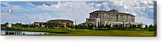 Viera Hospital Acrylic Print by Mike Fitzgerald