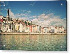 Vieux Lyon Acrylic Print by Philipp Klinger