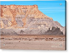 View Along Rt 12 In Utah Acrylic Print by Bob and Nancy Kendrick