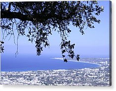 View Acrylic Print by Barry Boom
