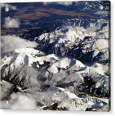 View From Above Iv Acrylic Print by Patricia Griffin Brett