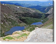 View From Atop Mt. Evans Acrylic Print