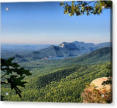 Acrylic Print featuring the photograph View From Caesar's Head by Lynne Jenkins