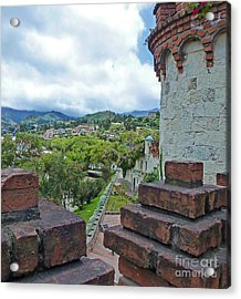 View From The City Walls - Loja - Ecuador Acrylic Print