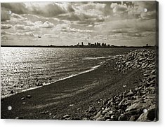 View From The Island Acrylic Print